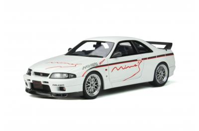 OT824 1/18 Nissan Skyline GT-R (R33) Mine'S 1998 White ottomobile
