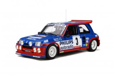 G050 Renault Maxi 5 Turbo Tour de Corse 1985 Ottomobile 1/12