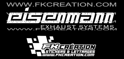 Sticker eisenmann exhaust systems