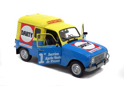 S1802204 RENAULT R4F4 DARTY Solido 1/18
