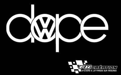 Sticker Dope VW