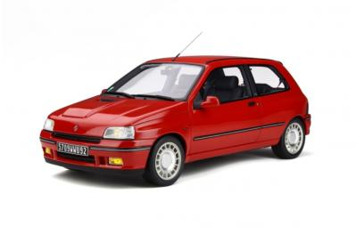 G045 RENAULT CLIO 16S PH.1 ROUGE VIF 1995 Ottomobile 1/12