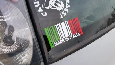 Sticker Made in italia