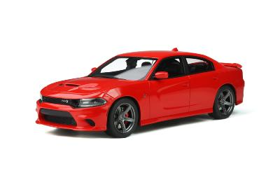 GT280 1/18 2019 DODGE CHARGER SRT HELLCAT TORCH RED   GT SPIRIT