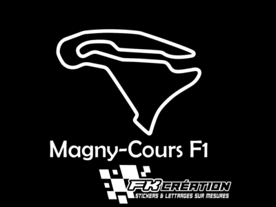 Sticker Magny cours F1