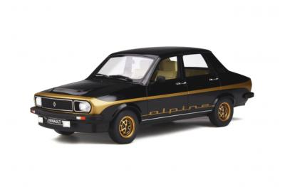 OT336 1/18 Renault R12 Alpine 1978 Black 694 Ottomobile 1/18