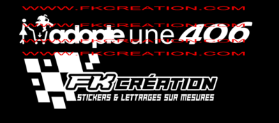Sticker adopte une 406