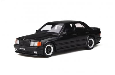 OT754 MERCEDES-BENZ 190E 2.3 AMG BLACK 1984  Ottomobile 1/18
