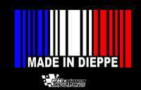 Sticker Made in dieppe