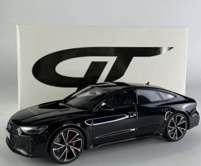 Audi RS7 Sportback Mythos Black / Night Package Aout 2021 ( CLDC011 ) GT Spirit 1/18