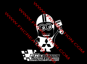 Sticker Minion piston Mitsubishi