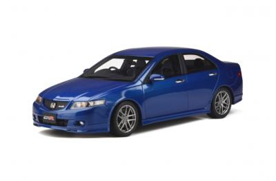 OT340 1/18 Honda Accord EURO R (CL7) 2003 Arctic Blue Pearl