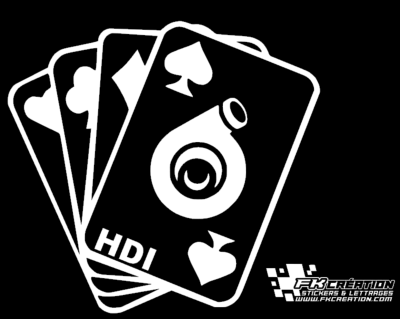 Sticker carte hdi