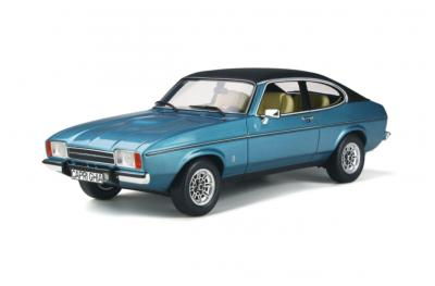 OT810  Ford Capri MKII 1974 Miami Blue Poly Ottomobile 1/18