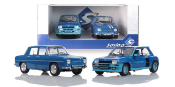 Pack S180005  PACK R5 TURBO BLEU & R8 GORDINI 1100 Solido 1/18