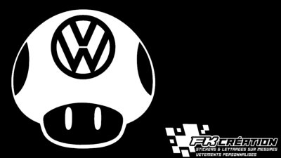Sticker Toad VW